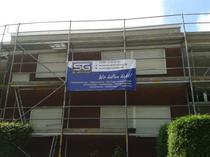 Fassadenschutz aufgetragen in Münster